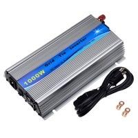 1000W Grid Tie Inverter Stackable MPPT Pure Sine Wave DC20 45V Solar Input AC90 260V Output for 30V 36V PV Panel