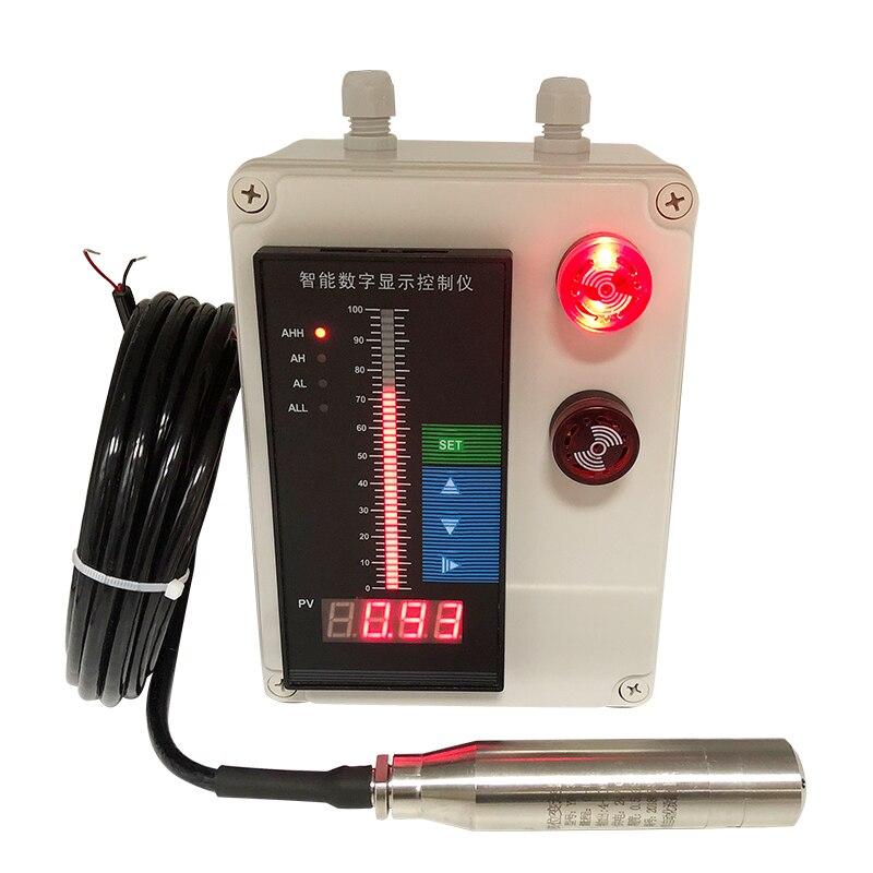 Input Liquid Level Meter  Fire Water Tank Water Level Controller  Display Instrument Liquid Level Transmitter 4 ~ 20mA