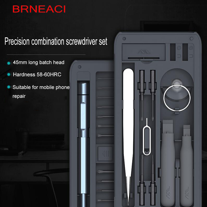 New High Quality Precision Magnetic Screwdriver Set For IPhone Android Phone Special Screwdriver Multifunction Disassemble Open