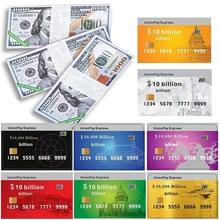 Tarjetas de crédito de papel, billetes de banco del cielo, moneda de ancestro, accesorio para la buena suerte, salud de la riqueza