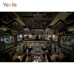 Yeele Spacecraft Technology Theme Party Birthday Child Photography Backdrops Portrait Photographic Backgrounds For Photo Studio