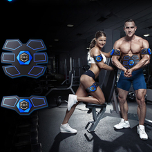 Rechargable Electric Smart EMS Abdominal Muscle Intensive Stimulator Weight Loss Exerciser Massager Machine 30