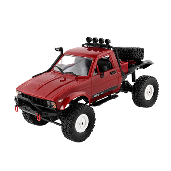 1:16 WPL C14 RC Truck 2CH 4WD Mini Radio Control Off-Road Climbing 15km/H Racing Car Kids Gifts Toy 1