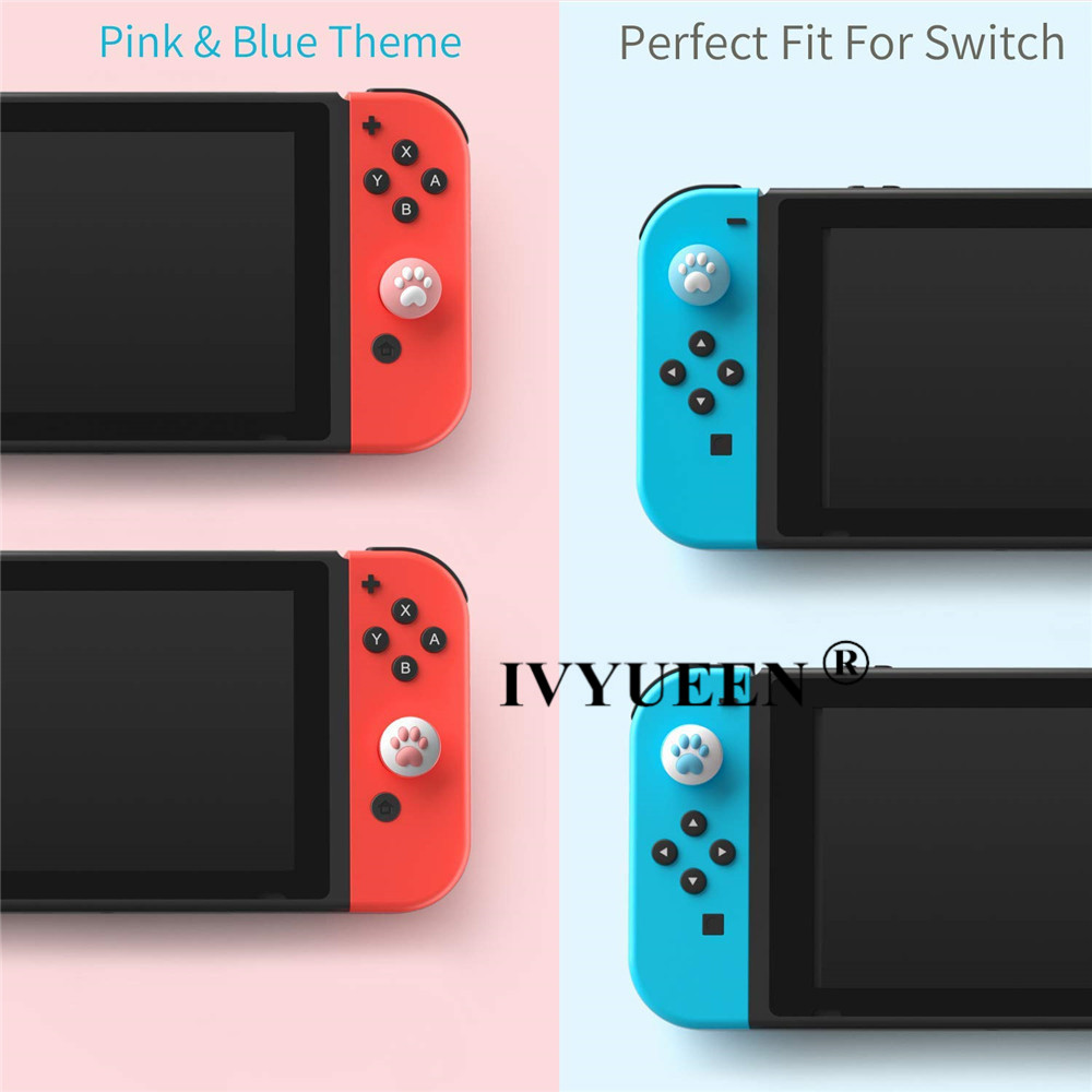 for Nintend switch lite joycon joy con analog thumb stick grip caps 07