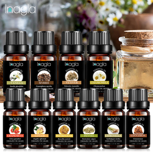 Inagla Myrrh Essential Oil Rose Pure Natural 10ML Pure Essential Oils Aromatherapy Diffusers Oil Relieve Stress Home Air Care