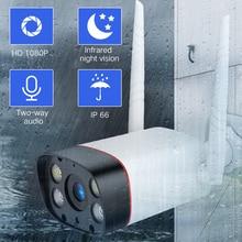 цена на SDETER WiFi Outdoor Security Camera 1080P IP Camera WIFI Waterproof Wireless CCTV Camera Night Vision Audio Motion Alarm P2P Cam
