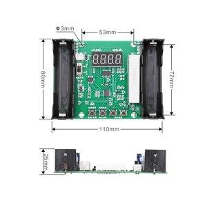 Image 3 - Probador de capacidad de batería de litio, XH M240, 18650 maH, mwH, descarga digital, carga electrónica