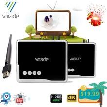 Vmade 2020 Dvb T2 Hevc H.265 Dvb T2 H.265 DecoderสนับสนุนYoutube USB WIFI Receptor Hd 1080P dvb T2ทีวีจูนเนอร์