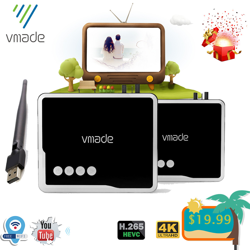 Vmade 2020 dvb t2 hevc h.265 приемник dvb t2 h.265 декодер поддержка youtube USB Wi-Fi рецептор hd 1080P цифровой dvb t2 ТВ тюнер