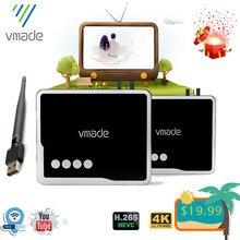 Vmade 2020 dvb t2 hevc h.265 receiver dvb t2 h.265 decoder support youtube USB WIFI receptor hd 1080P digital dvb t2 tv tuner