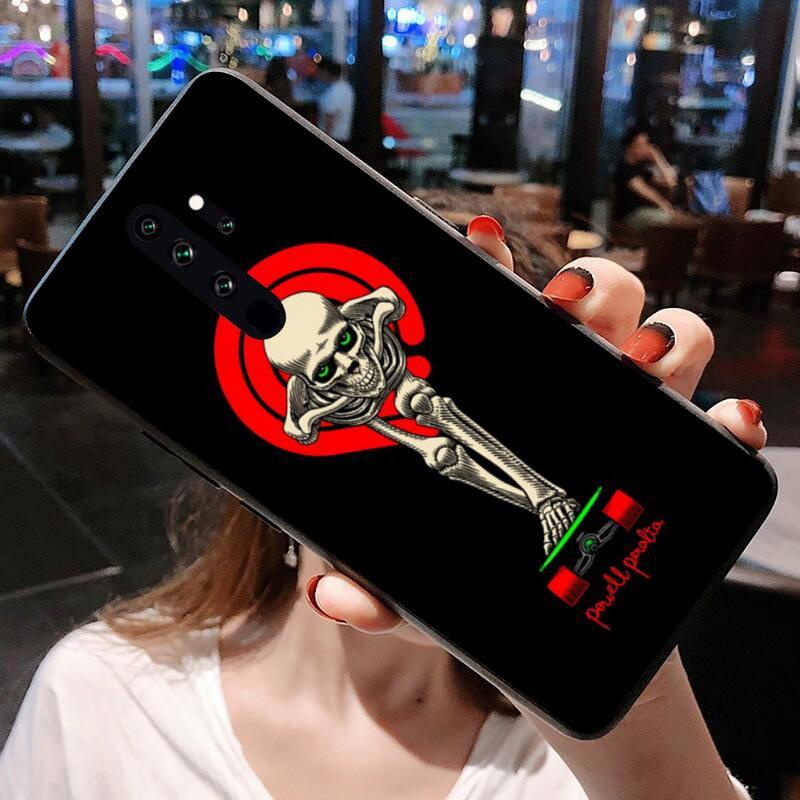 Skateboard Powell Peralta Phone Case for Redmi 9A 8A 7 6 6A Note 9 8 8T Pro Max Redmi 9 K20 K30 Pro