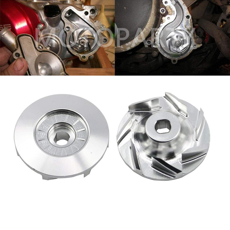 Impeller Water Pump Billet Aluminum For Polaris LSV Ranger RGR RZR Sportsman 170 400 499 500 570 700 800 900 1000 JAGGED 2x4 4x4