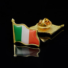 Ierland Eire Land Vlag Revers Hoed Cap Tie Pin Badge Ierse Republiek Broche(China)