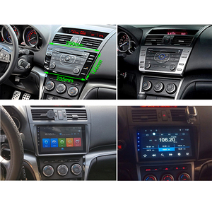 Image 3 - SINOSMART Stock w rosji ue 2.5D IPS 2G RAM nawigacja samochodowa GPS odtwarzacz nawigacyjny dla mazdy 6 2008 2012 32EQ DSP, 4G gniazdo karty SIM opcjonalnie