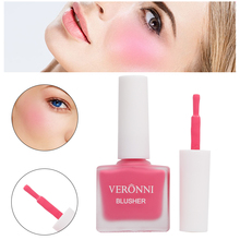 VERONNI Peach Liquid Facial Blush Matte Nude Cosmetics Repair Blusher Face Cheek Cream Korean Makeup Hot selling