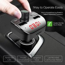 Buy Handsfree Bluetooth4.2 voiture FM Transmitter Modulator Car Audio Receiver Black zender Charger 3.5A Dual USB Adapter ?????????? directly from merchant!