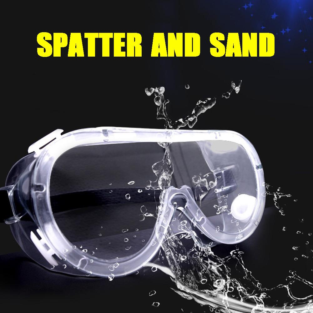 Goggles Safety Anti Virus Protective Safety Glasses Anti Dust Antisand Antifog Transparent Goggles Eye Protection