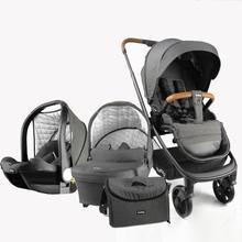 3 в 1 детская коляска burbay высокий пейзаж коляска складная коляска Золотая детская коляска новорожденная коляска