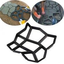Садовые декорированные инструменты, форма для бетона, сделай сам, камень, Пластиковая форма для производства брусчатки, лопата 43*43*4 см