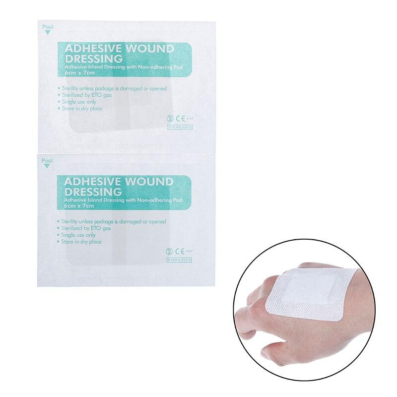8Pcs Non-woven Bandage Hypoallergenic Medical Adhesive Wound Dressing Band Aid Bandage Large Wound First Aid Large Bandage