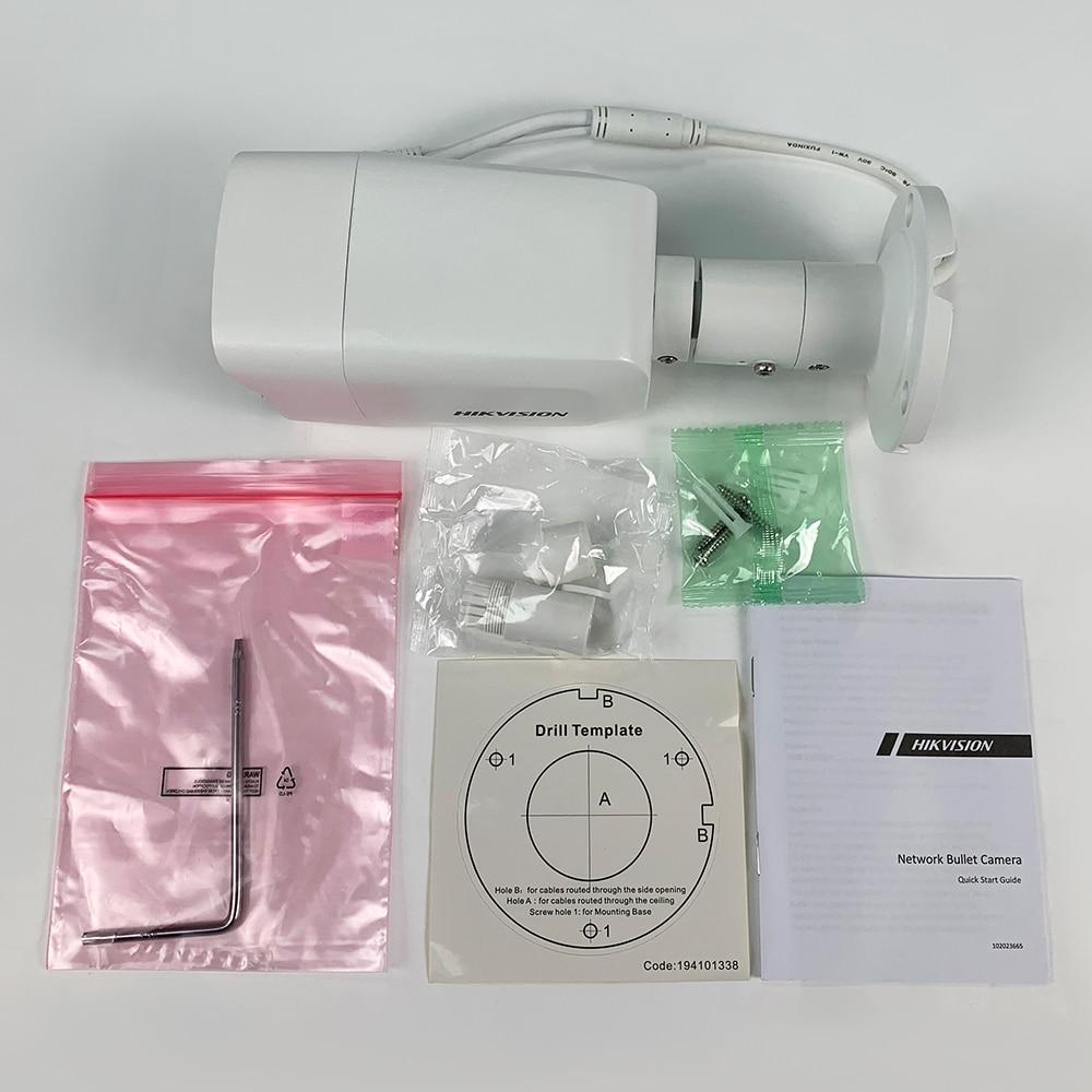Caméra de sécurité Bullet IP POE IP67, 4mp, en Stock, couleur DS-2CD2047G1-L, produit Original 5