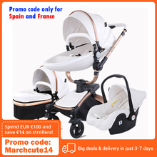 Baby Stroller Tricycle Folding High-Landscape for 0-36-Months 3-In-1