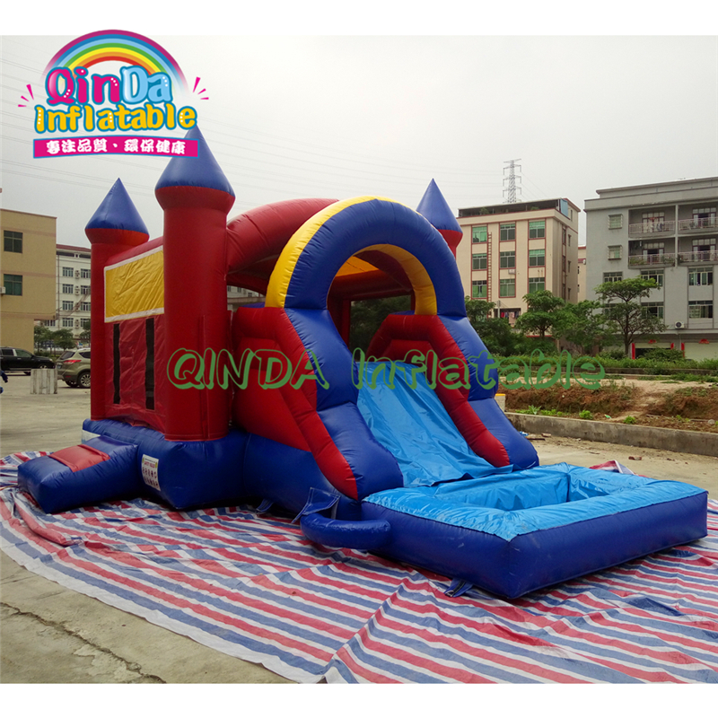 China Inflatable Combo Inflatable Toy House Jumping Castle 0.55mm Pvc Inflatable Bouncer For Sale