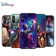 Superheld Iron Man Voor Xiaomi Redmi 9T 9I 9AT 9A 9C 9 8A 8 7A 7 6A 6 5A 5 4X Pro Prime Plus Zwart Soft Phone Case