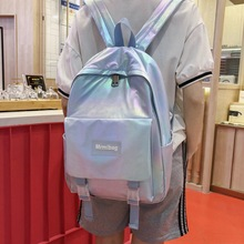 gradient color school bag female Korean version Harajuku ulzzang high school backpack trendy female college student backpack