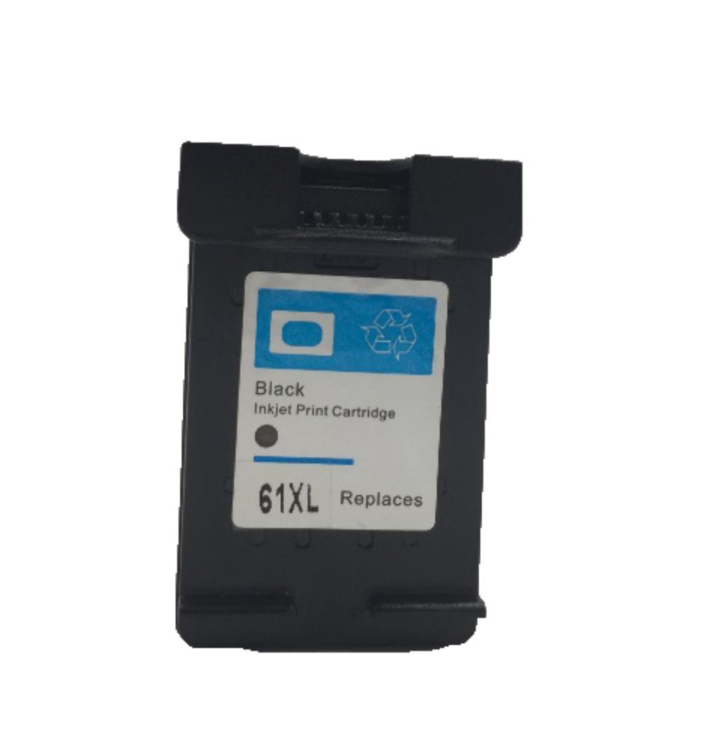 Remanufactured Ink Cartirdge for HP 61XL Black MICR Fits Deskjet 1000 1510 2050