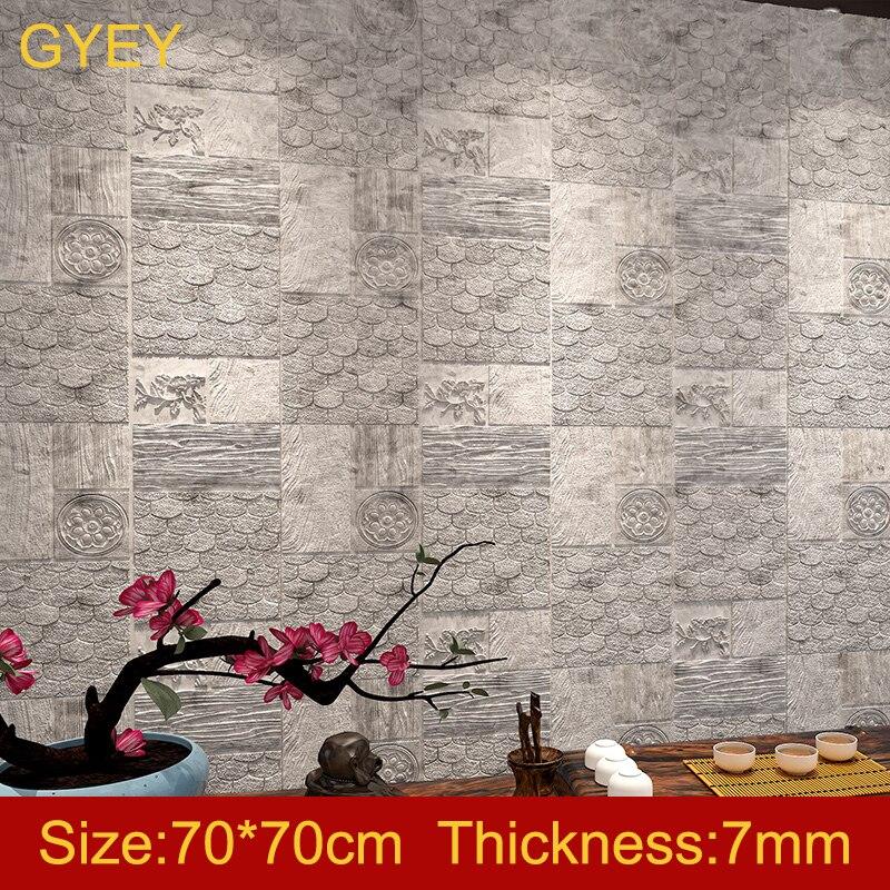 Self-adhesive 3D Wall Stickers Bedroom Living Room Warm Bathroom Waterproof Wallpaper Ceiling Ceiling Roof Wallpaper