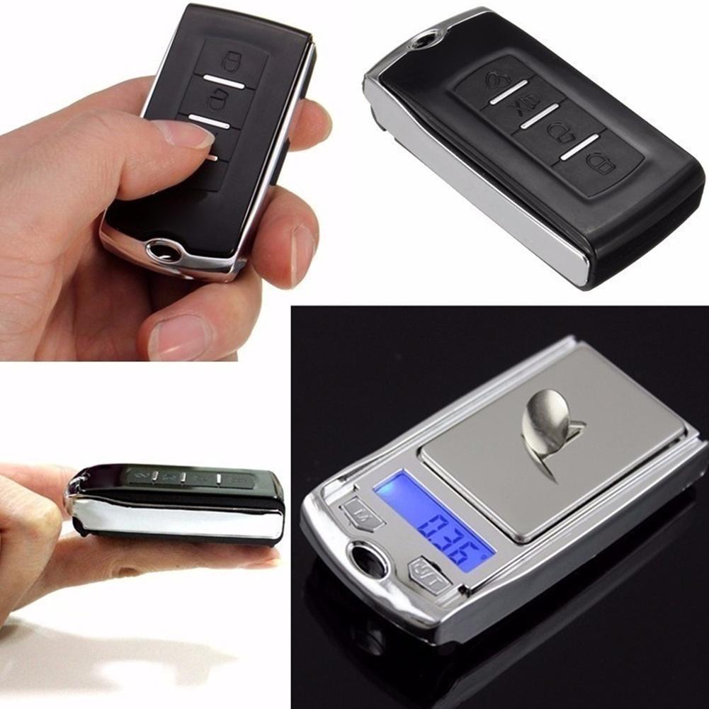 Super Mini Pocket Jewelry Cract Scale 200g/100g Car Key Digital Scales Weight Balance Gram Scale