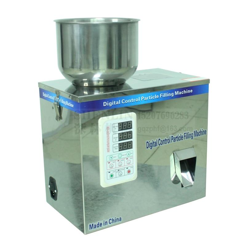 Pedaalkaaluga automaatne jagatud laadimismasin teraviljapulbri ümberpakkimismasin toidu maitsestamise pakkimismasin 110V / 220V