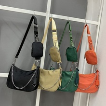 Travel Crossbody Purse Handbags Shoulder-Bag Nylon Ladies Clutch Mini Tote Waterproof-Design