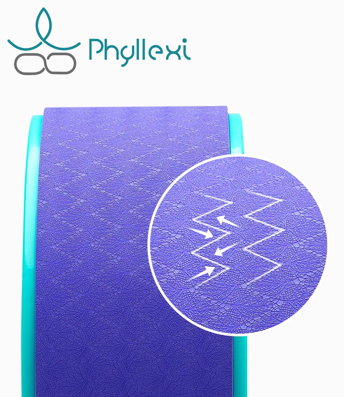 Phyllexi Yoga Pilates Circle TPE Yoga Fitness Roller Wheel Back Training Tool Slimming Waist Shape Pilates Ring|Yoga Circles|   - AliExpress