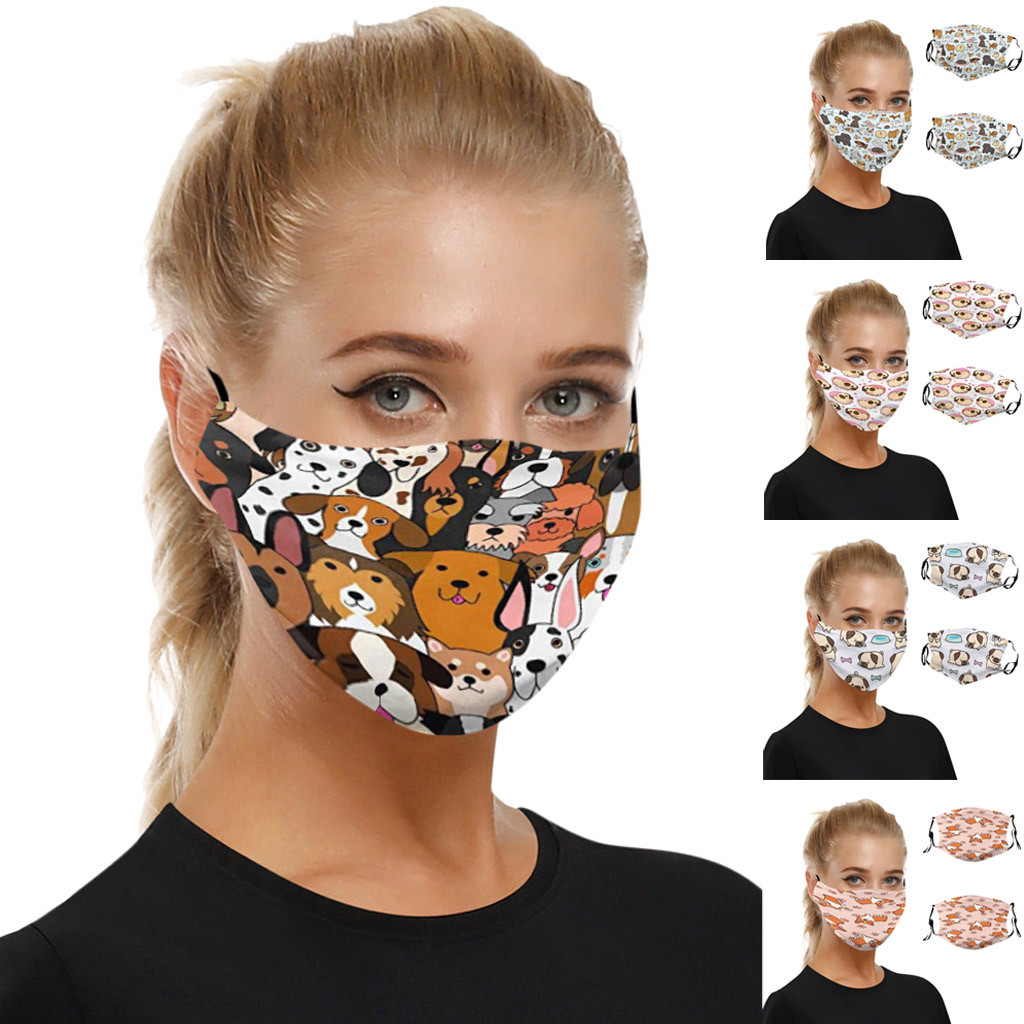 Universal Dust-Proof And Smog-Washable Mask For Adults In Europe And America Protection Breathable Respirator Mascarillas Masque