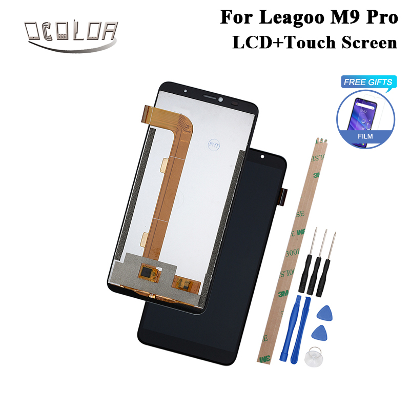 ocolor For Leagoo M9 Pro LCD Display and Touch Screen +Tools And Adhesive 5.72 Inch For Leagoo M9 Pro Phone Accessories +Film-in Mobile Phone LCD Screens from Cellphones & Telecommunications    1