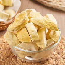 Durian Fruit Freeze Dried Fruits Snacks Chunks - Non-GMO 100% Natural and Organically Processes Bake Material Cake Decorate