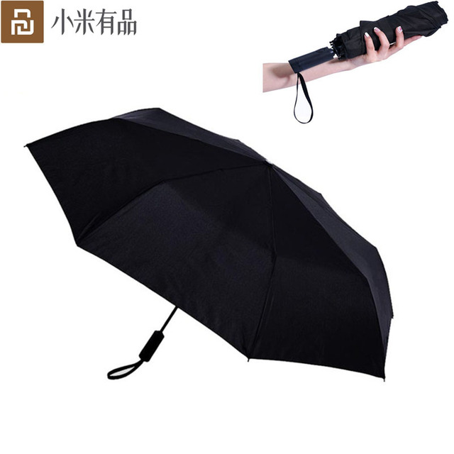 Youpin Automatic Rainy umbrella Sunny Rainy Summer Aluminum Windproof Waterproof UV Parasol Sunshade Man Woman
