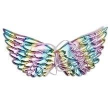 Halloween unicórnio asas para meninas fadas princesa traje acessórios aniversário festa de natal