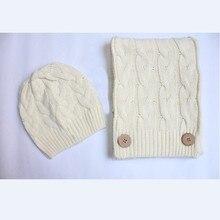 Шарф для женщин теплый головной убор зимняя шапка шарф комплект зимняя шапка лыжная шапка шерсть Cap теплый вязание Cap Рождественский подарок