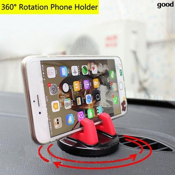Car Dashboard Mobile Phone Stand Mount GPS Holder For Hyundai solaris accent i30 ix35 i20 elantra santa fe tucson getz image