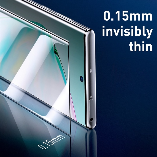 Baseus Samsung Galaxy Note 10 Note 10 Plus 2pcs 0.15mm Full Coverage TPU Screen Protector Film