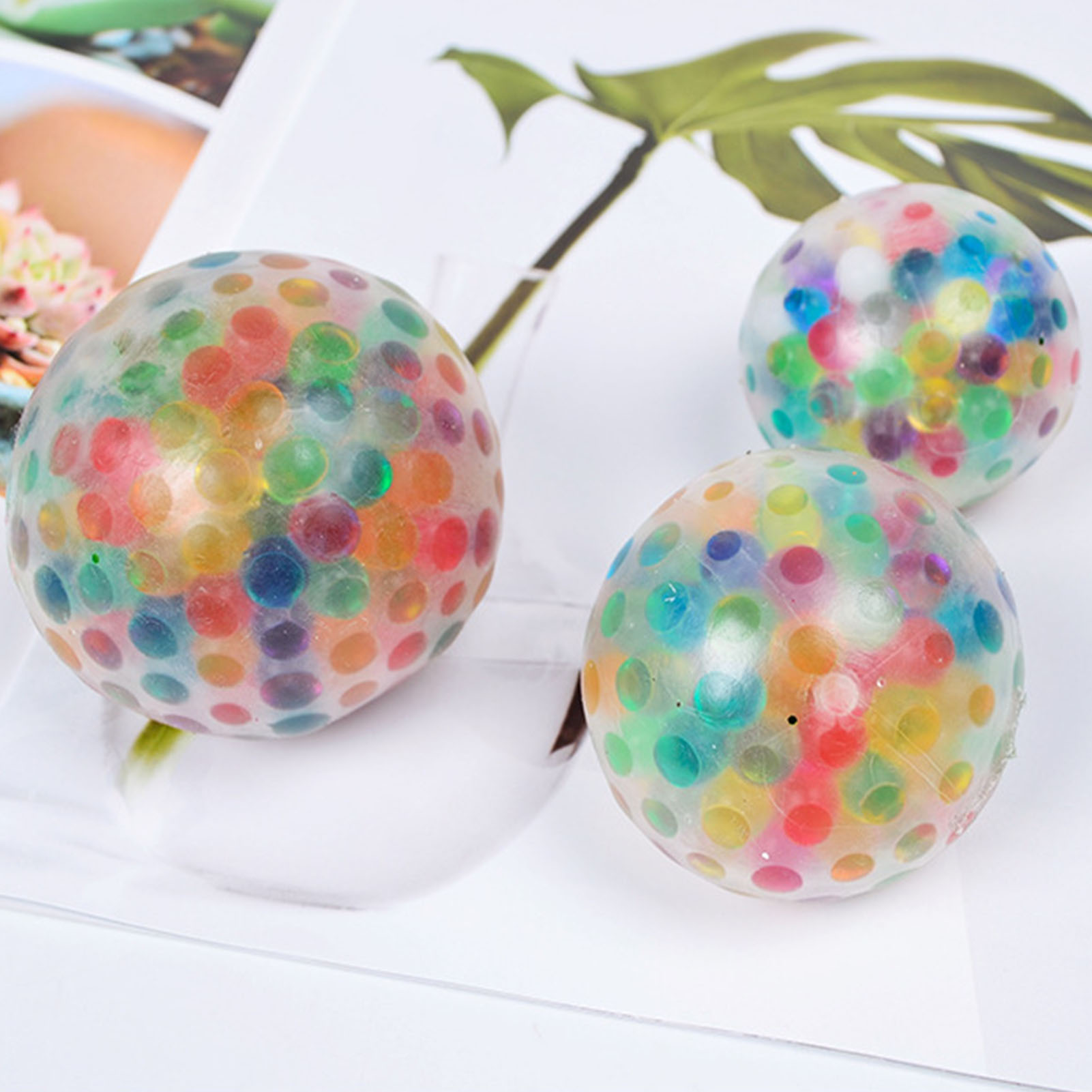 Sensory Fidget Squishe-Toys Decompression Soft-Stress Relief-Squeeze-Ball Prank Adults img4
