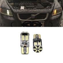 Canbus T10 W5W SMD 4014 Wedge Clearance Luzes Do Carro Luz de Estacionamento Para Volvo S60L 22LED S80L XC90 C70 V40 V50 V60 XC60 S40 S60 S80