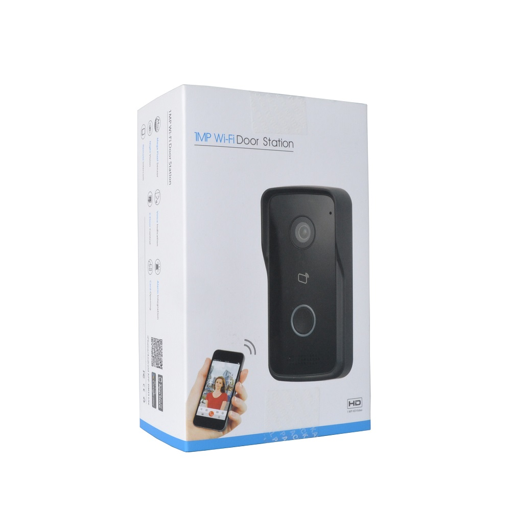 DH Logo Multi-language VTO2111D-WP 802.3af PoE IP Villa WiFi Doorbell,Video Intercom,IP Door Phone,P2P Cloud,Villa Door Station