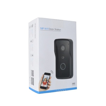 DH logo Multi-language VTO2111D-WP-S1 802.3af PoE IP Villa WiFi Doorbell,Video intercom,IP Door Phone,P2P Cloud,Door Station dh 4ch analog distributor vtna1040b support 60 cascading video intercom accessory export version without logo