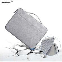 "Handtas Aktetas Laptop Tas Waterdicht Sleeve Carry Case Voor Microsoft 12.3 ""Oppervlak Pro 6/5/4 Oppervlak Boek 13.5 ""Pro 3/2 Cover"