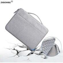 """Handtasche Aktentasche Laptop Tasche Wasserdichte Hülse Tragen Fall für Microsoft 12.3 """"Oberfläche Pro 6/5/4 Oberfläche Buch 13.5"""" Pro 3/2 abdeckung"""