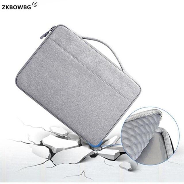 """กระเป๋าถือแล็ปท็อปกระเป๋ากันน้ำพกพาสำหรับ Microsoft 12.3 """"พื้นผิว Pro 6/หนังสือพื้นผิว 5/4 13.5 """"Pro 3/2 ฝาครอบ"""